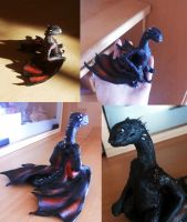 Game of thrones inspired dragon^^ by mijux3