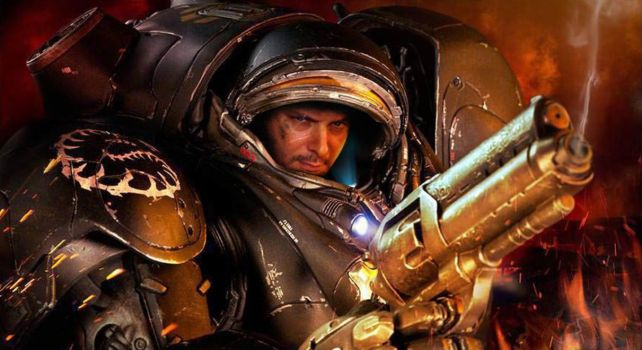 Raynor, the most revered man in all of South Korea by The-First-Magelord