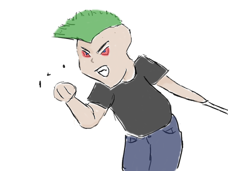 Angry Chibi Jason Carsur by LadyLuca87