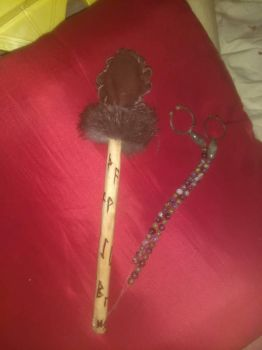 Runic Drum Mallet by Glomscient