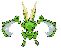 Scyther WWS by the19thGinny