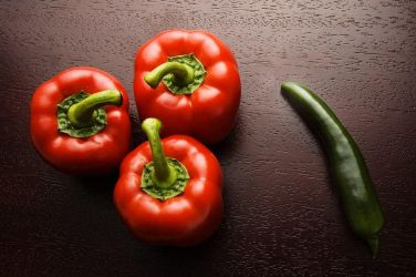 Red peppers and a spy by aronbrand