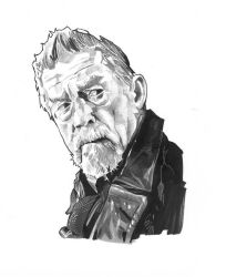 The War Doctor Marker and Pencil Art by jlfletch