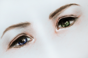 Final Fantasy - Yuna's Eyes by Kipichuu