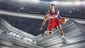 John Wall Wallpaper by rhurst