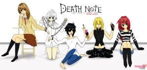 Death Note Female Version by francess08