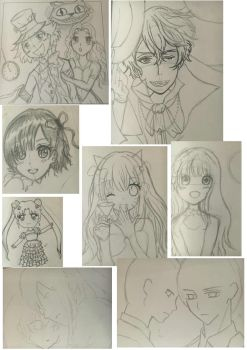 Sketches! by YuukiCross5