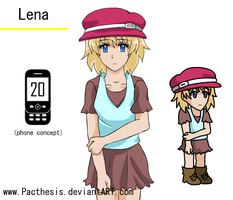 lena character sheet by Pacthesis