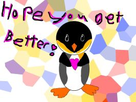Penguin Wants you better by soulkinda