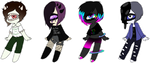 .:Tootheye Adopts [4/4 OPEN]:. by ImperfectImposter
