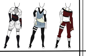 Adoptables-Outfit Set 12 CLOSED by HardyDytonia
