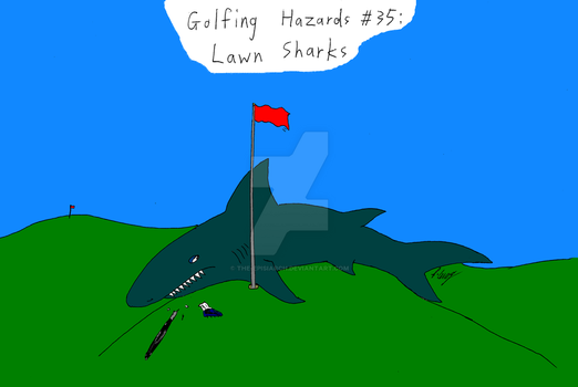 Lawn Shark by The-Episiarch