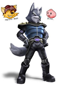 Wolf O'Donnell is BACK by WolfoxOkamichan