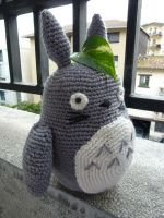 Waiting for the (Cat)bus by crocheter
