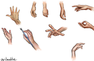Hand Practice by owlmaddie