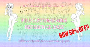 *ON SALE* P2U Customizable Reference Base! by Shadow-PupX3
