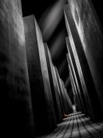 Holocaust Memorial, Berlin by DiRi