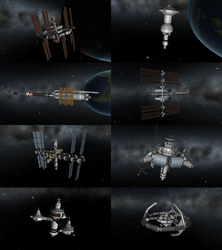 Space Stations in KSP by 1Wyrmshadow1
