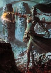 Reptilian Enchantress by Sebastien-Ecosse