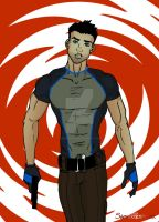 Dick Grayson Agent 37 by TumbledHeroes