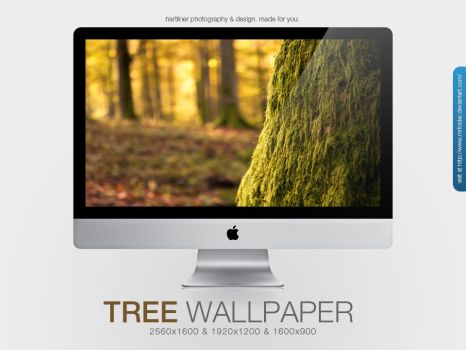 The Tree Wallpaper by MrFolder