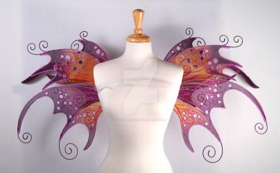 Anastasia Fairy Wings Front by glittrrgrrl