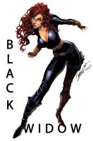 Black Widow Color by logicfun