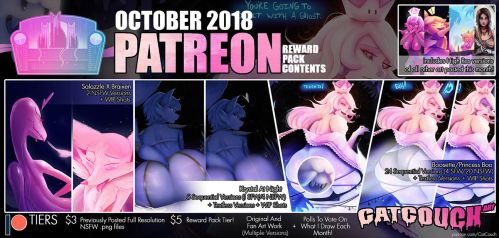 CatCouch October 2018 Patreon Reward Pack! by CatCouch