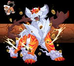 Landorus- The Unovian Earth God by blueharuka