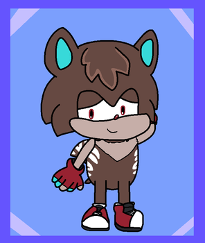 StH - Gavin the Hedgehog (Contest Entry) by Harmony--Bunny