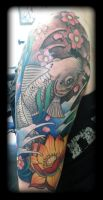 Koi by state-of-art-tattoo