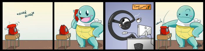 Squirtle: Unknown Caller by SHIBUYA401