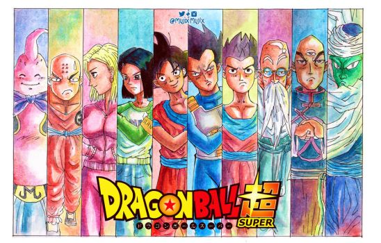 Fighters from universe 7 by mujix
