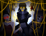 [Contest]The Puppeteer and his puppets +SPEEDPAINT by L0ra2