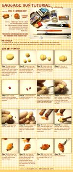 Sausage Bun Tutorial by whitefrosty