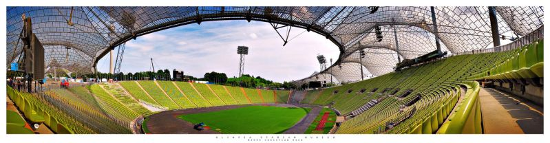 Olympia Stadium Munich by Nightline