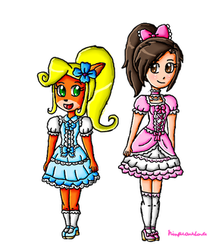 Coco and Dayana lolita by ninpeachlover