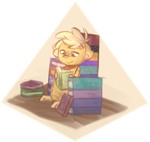 Home is where you have Books by xSeamair
