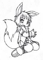 FanBio: Peppermint - Eevee by Anasatcia