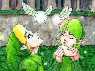 Saria's Song by ShadowPhoenixRisen