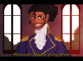 La Fayette at your service[Fake Screenshot] by CaseyKeshui