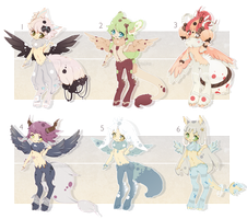 [CLOSED] ADOPT 50 - Winged Satyr by Piffi-sisters