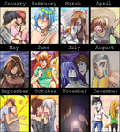 summary of arts - 2011 by artist-Kat
