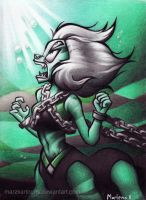 Malachite Imprisoned by MarzKartoons