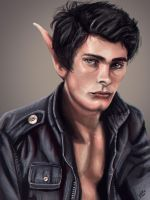 Tanno the Half elf by Galder