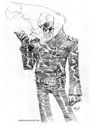 Ghost Rider by rogercruz