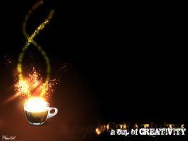 Creativity from a Cup by phanorcoll