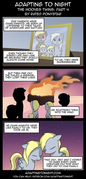 AtN: The Hooves Twins -  Part 4 by Rated-R-PonyStar