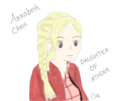 Annabeth, the Daughter of Athena by MusikManiak12