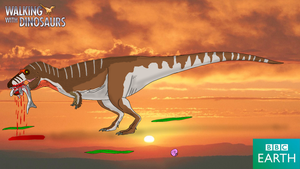 Walking with Dinosaurs: Lythronax by TrefRex